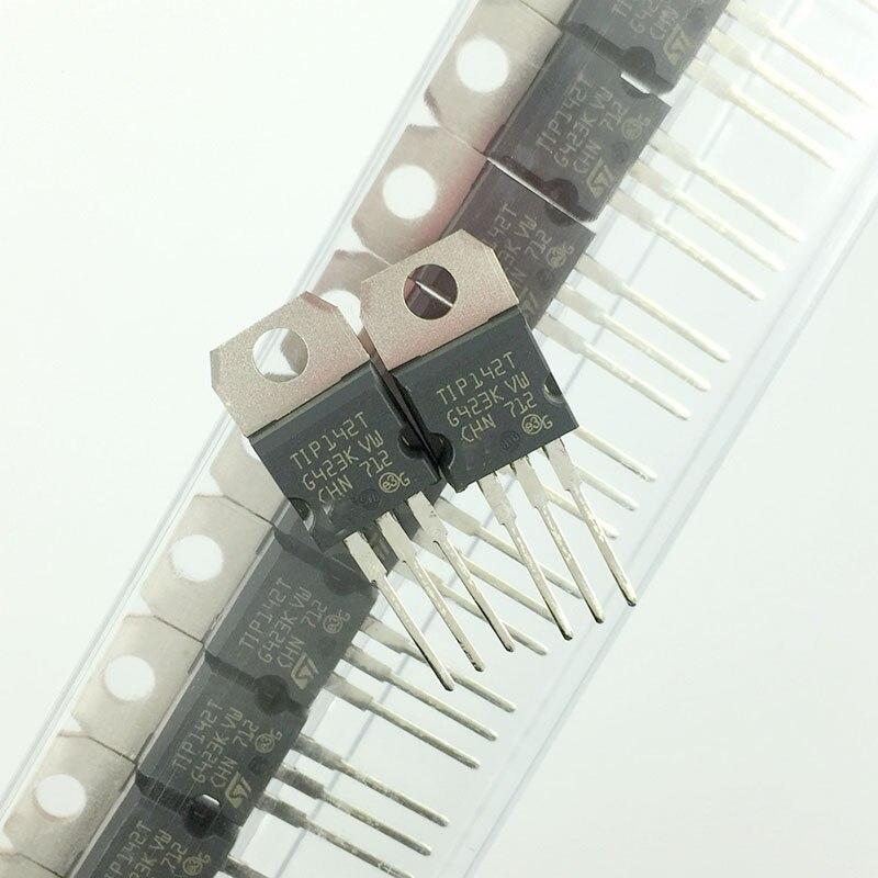 20 pçs/lote TIP142T original TO-220 tubo darlington NPN 15A/100V