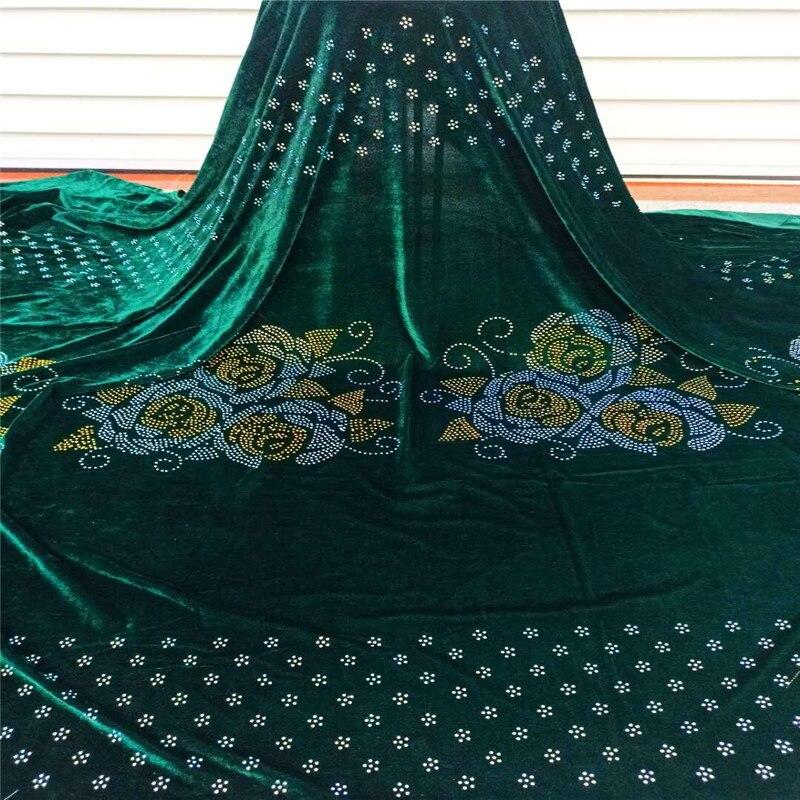 Tissus de dentelle de velours populaires violet français maille dentelle tissu de haute qualité pierres tissus nigérian Net dentelle pour la fête de mariage