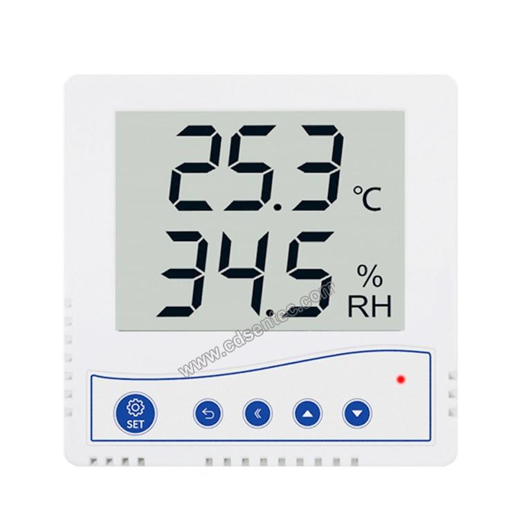 SEM220B Wall-mounted LCD 4-20ma analog output temperature and humidity Sensor