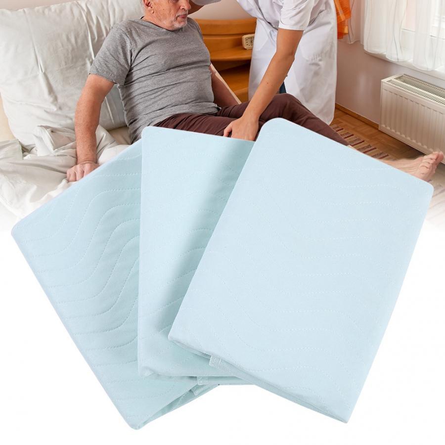 3 pçs underpad reutilizável lavável impermeável crianças adulto incontinent almofada para sofás despeje adultos idosos deficientes