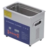 dual frequency ultrasonic cleaner ultrasonic cleaning machine dual frequency mh 020g 3l with heating timing degassing