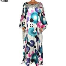 Super taille robes africaines pour femmes 2020 été Style ample imprimé africain longue Robe Maxi Dashiki Boubou Robe Africaine Femme