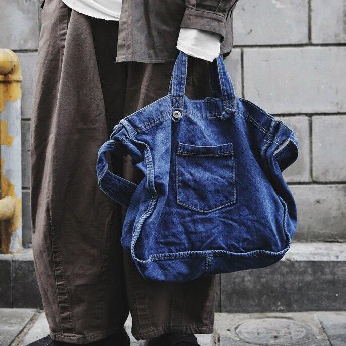 Denim women handbag Large capacity 2020 New Casual Jeans Bags   Woman Shoulder Crossbody Bag ladies hand bagSac A Main Bolsos