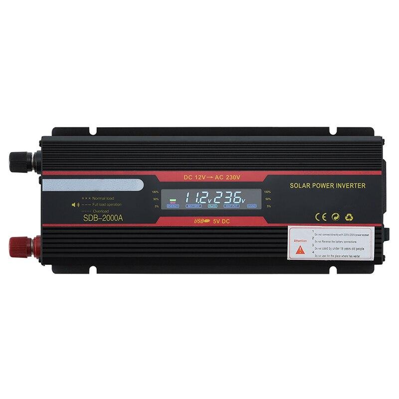 conversor de voltagem com pico de 6000w 4000w aozbz transformador para carros e caminhoes