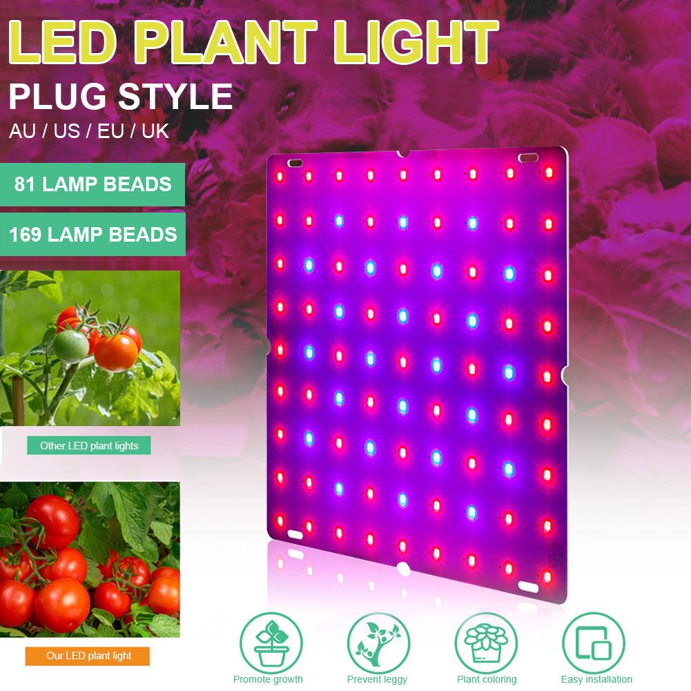 265V Светодиодный Grow светильник для комнатных растений лампа для выращивания растений полный спектр завод светильник для парниковых гидропо...