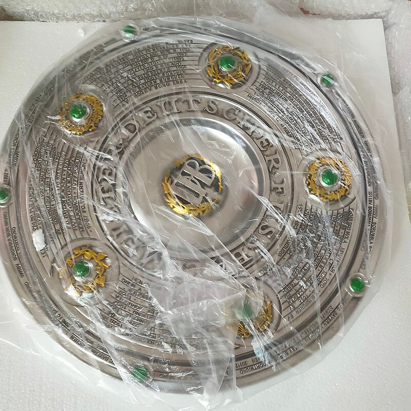 Bayern Wins The Bundesliga Trophy Souvenirs Diameter 43CM 4KG Football Champions Trophy Fans Souvenir Resin Crafts Nice Gift