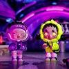 POPMART Skullpanda Hypepanda Series Blind Box Doll Binary Action Toys Figure Birthday Gift Kid Toy 4