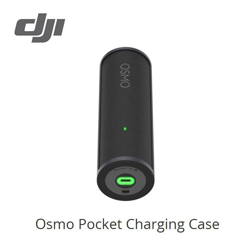 DJI Osmo, estuche de carga de bolsillo, 1500mAh de potencia, conveniente giro para abrir el diseño, almacenamiento, original a estrenar