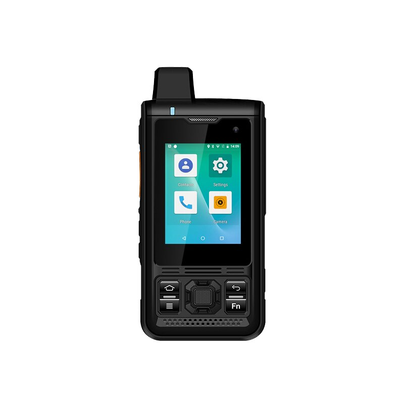 UNIWA B8000 2,4 pulgadas LTE NFC IP68 impermeable del teléfono móvil POC Zello Radio Android 6,0 de 5000mah