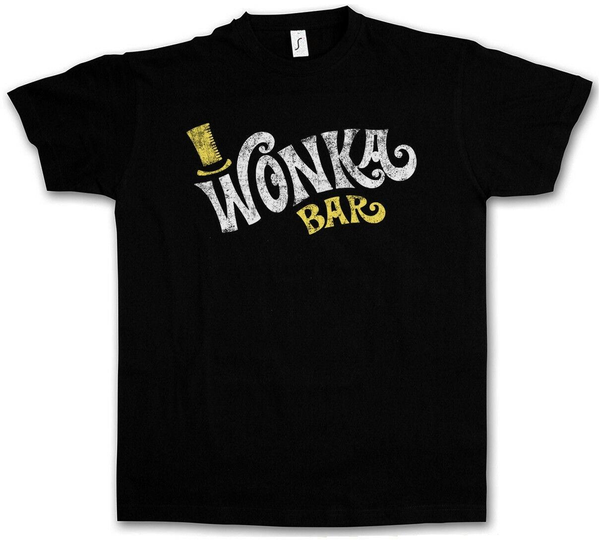 WONKA BAR T-SHIRT - Charlie Schokolade Fabrik Willy Eimer Roald Dahl T-Shirt