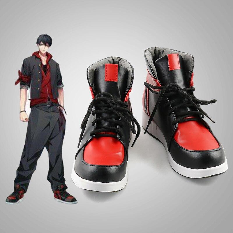 Division Rap Battle Hypnosis Mic DRB The Dirty davg Ichiro Yamada; обувь для костюмированной вечеринки; ботинки на Хэллоуин