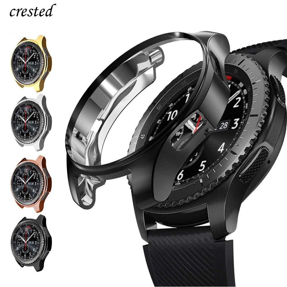 Funda para samsung Galaxy watch, correa de 46mm/42mm, cubierta protectora de pantalla...