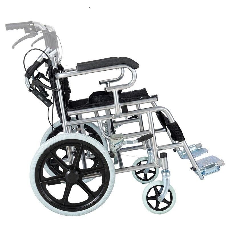 Heng hubang cadeira de rodas dobrável luz portátil exceder a luz os idosos idade pequena-escala de viagem desabilitado caminhada em vez do motorista