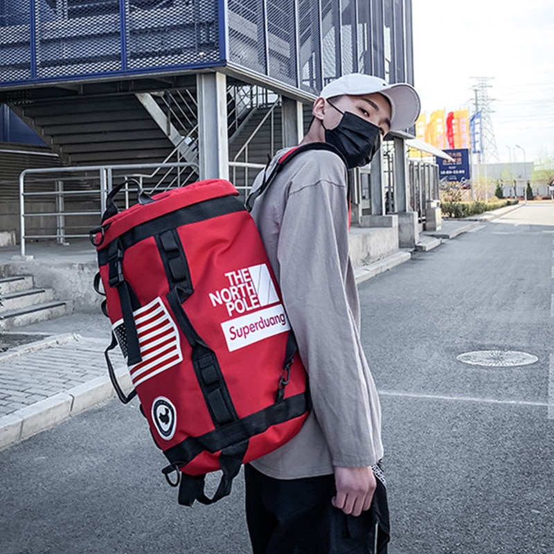 حقيبة ظهر للتدريب حقيبة جيم مصنوعة من الدفل حقيبة ظهر كرة السلة الرياضية للنساء عشاق اللياقة البدنية السفر Mochila اليوغا حقيبة كتف 2021