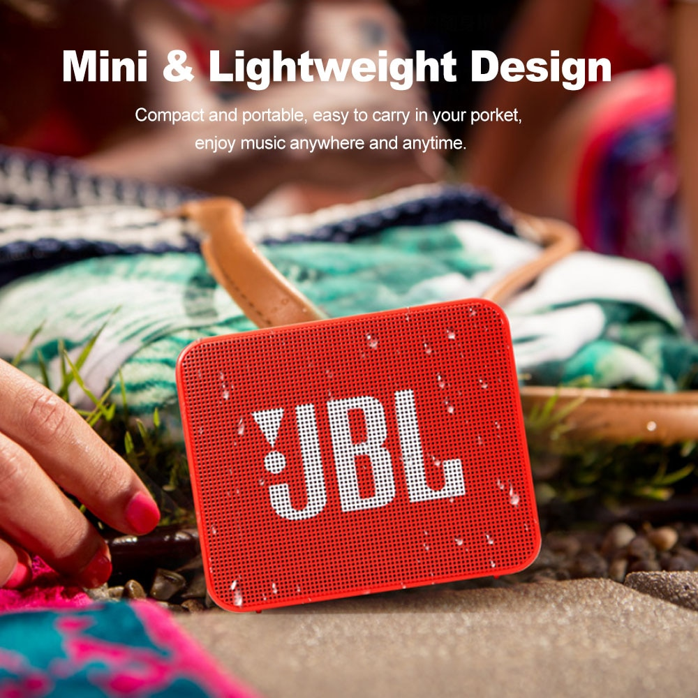 JBL GO2 GO 2 Wireless Bluetooth Speaker Portable IPX7 Waterproof Outdoor Sports Bluetooth Speakers Rechargeable Battery with Mic enlarge