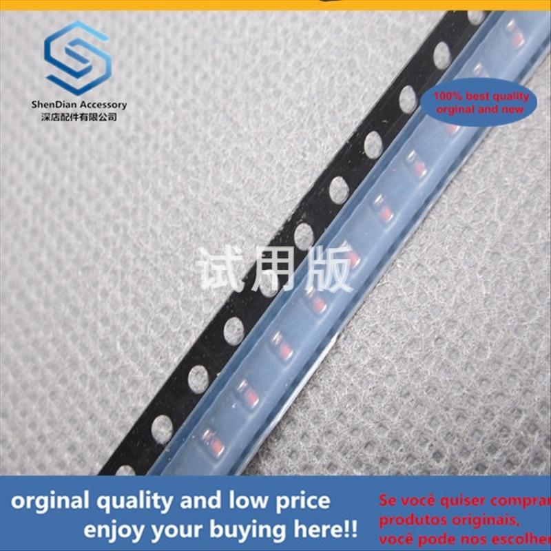 50 Uds 100% original nuevo mejor calidad SMD diodo BZM55B9V1-TR MELF 0805 9V1 regulada Zener