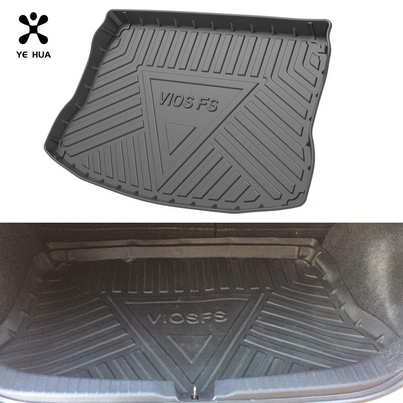 коврики в машину Автомобильные коврики для Toyota VIOS 2007, коврик для багажника, водонепроницаемый прочный ковер против грязи, специализированн...