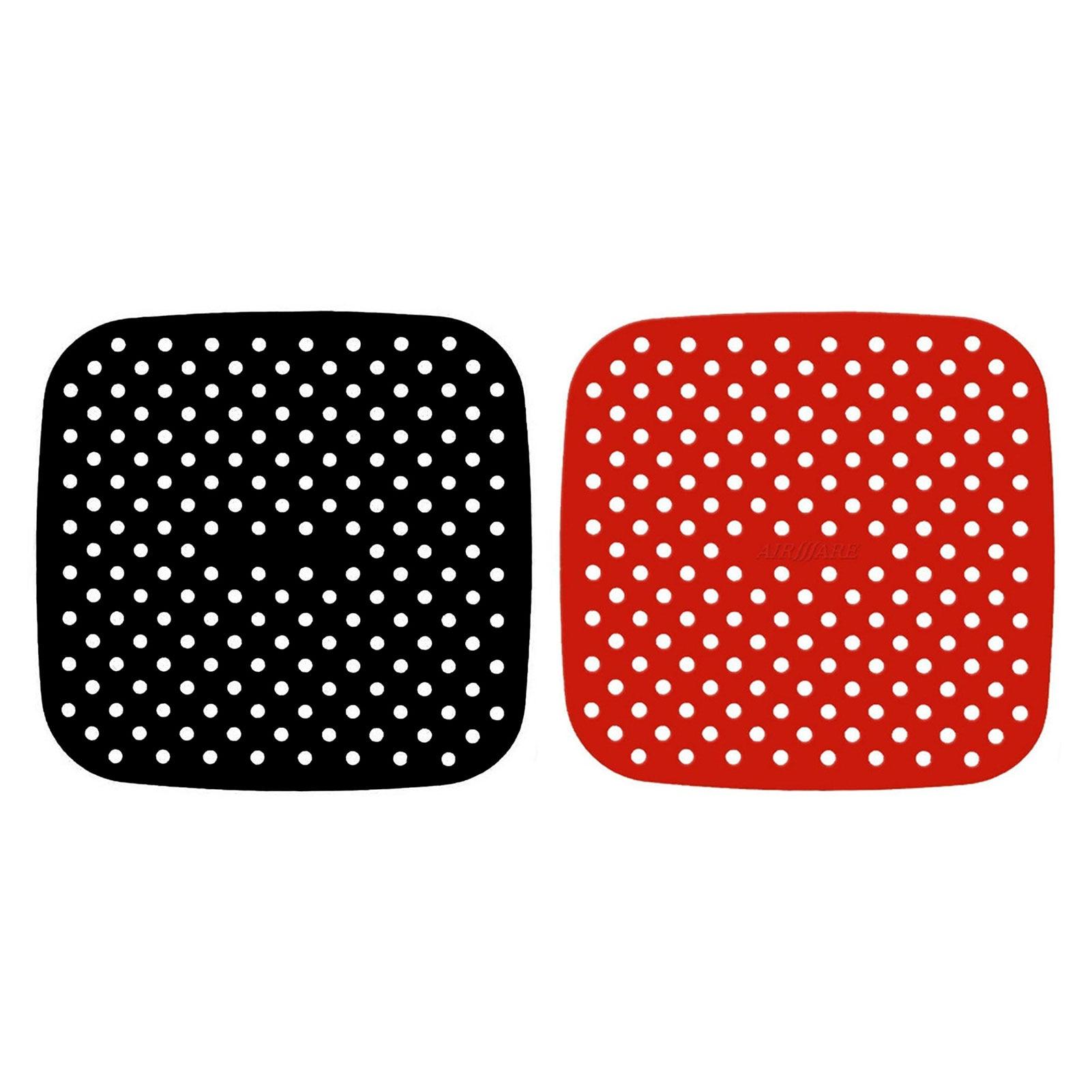 Кухонные инструменты Гаджеты кухонная посуда многоразовая подкладка для фритюрницы Нескользящая силиконовая подкладка принадлежности дл...