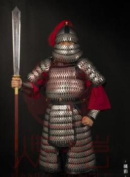 Ancient Chinese armor Heavy Infantry Stainless steel 24KG Song Dynasty Finished product