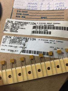 10PCS Mexico new 200V100PF P5MM JAN Multilayer ceramic monolith capacitor DIP Monolith 100PF 101/200V 101