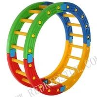 eco friendly colorful plastic balance archrs plastic playground