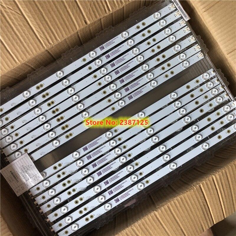 14 Uds de retroiluminación LED 6 + 6 lámparas para TPT490U2-EQYSHM.G GJ-2K16-490-D712-P5-R GJ-2K16-490-D712-P5-L 210BZ06DR43535K04D