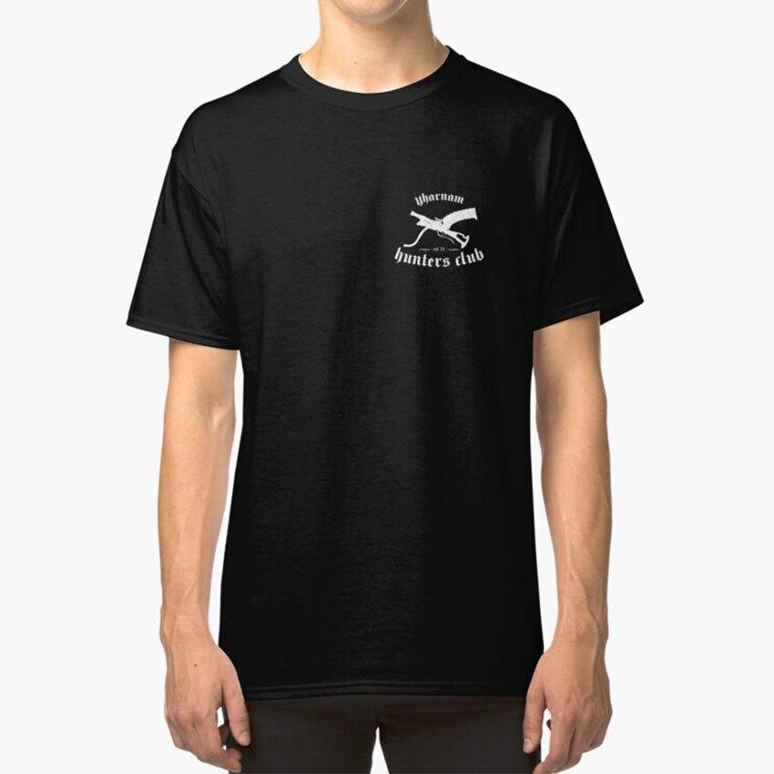 Bloodborne hunters club t-shirt jogos de jogo bloodborne gamer souls dark souls do software