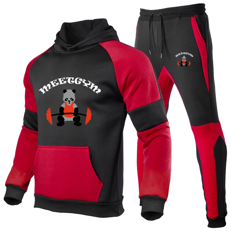 2021 Толстовки, Толстовки, спортивные штаны, Повседневный пуловер на заказ, костюм, одежда, хлопковые однотонные брюки