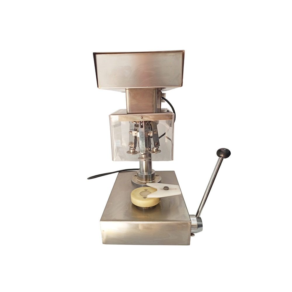 Pharmaceutical Tabletop Vials Capping Machine For 2ml 5ml 7ml 8ml 10ml 15ml 20ml 25ml 30ml 50ml 100ml 250ml 500ml