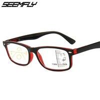 Многофокальные очки Seemfly с диоптриями 1,0, 1,5, 2,0, для мужчин и женщин