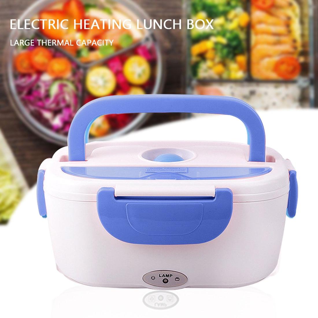 12V 24V 110V 220V Tragbare Elektrische Lunch Box Edelstahl Auto Home Office Heizung Bento Box kinder Lebensmittel Wärmer Container