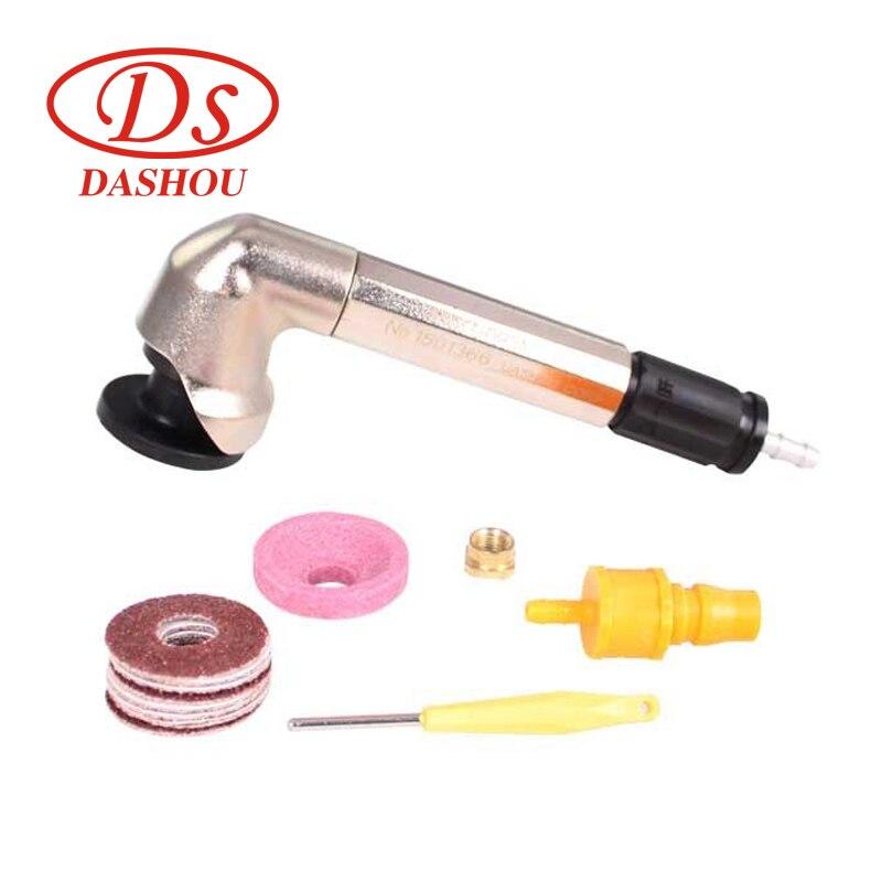 DS Air Tools MAG-093N Angle 90 Degree Pneumatic Angle Grinder Air Die Grinding Machine Polishing Machine 23500rpm 1pc