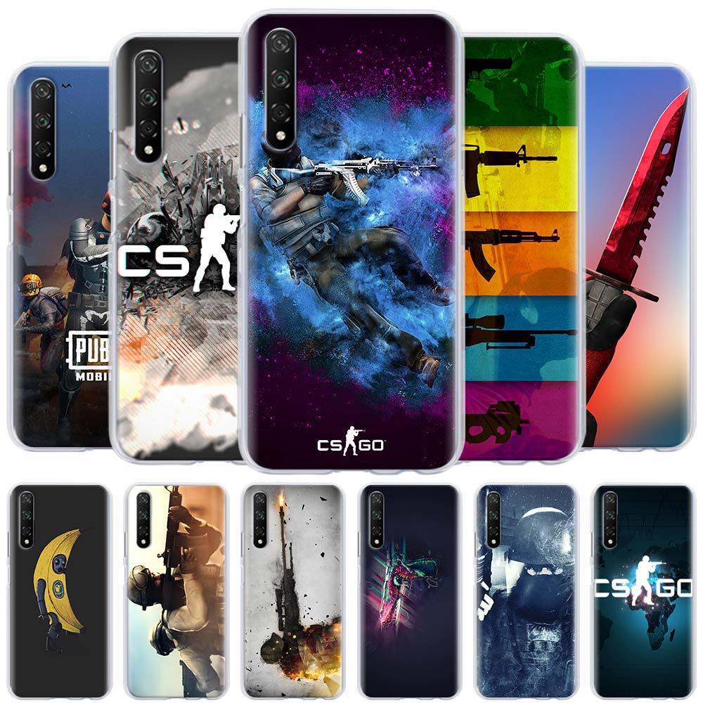 Cs Go Logo coque de téléphone pour Huawei Honor 8A 9A 8X 9X Pro 9S 9C 10 20 Lite 10i 20i 30 Pro 30S X10 couverture rigide