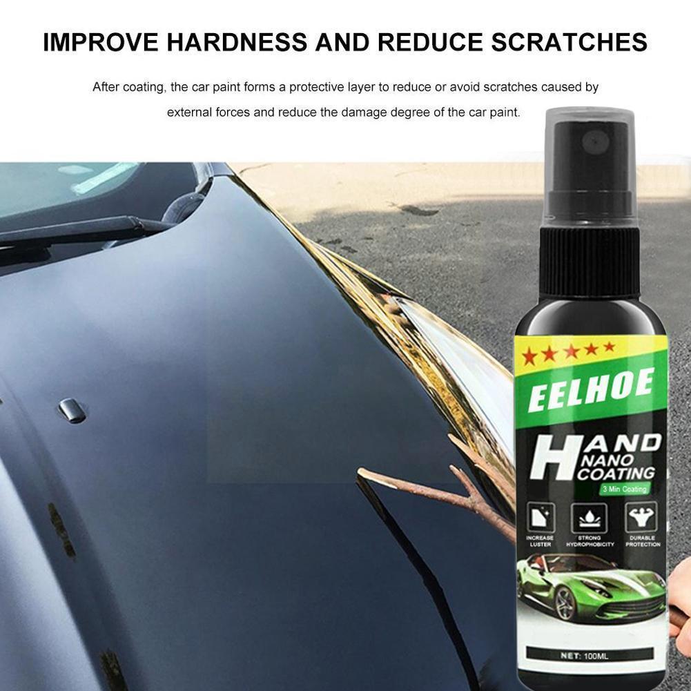Жидкое керамическое покрытие с распылителем, автомобильный лак, спрей-герметик, нано-покрытие, автомобильные инструменты, топ 500 мл, Автомоб...