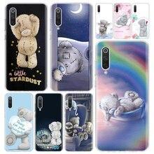 Teddy Me a los osos de la cubierta de la caja del teléfono para Xiaomi Redmi Nota 9S 8T 8 8A 7 7A 6 6A 5 10 K20 S2 K30 Pro Mi CC9 8 9 5X 6X Lite +