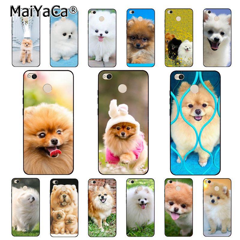 MaiYaCa Pommerschen hunde hund Telefon Fall für Xiaomi mi5 6 A1 A2 Lite Mi9 9SE mi8lite F1 Mix2 2S max2 3
