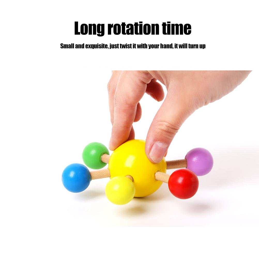 Stress Relief Colorful rotation Fidget Toys for Anxiety Anti-Stress Roller Fingertip Toys Adult Children Finger Spinner enlarge