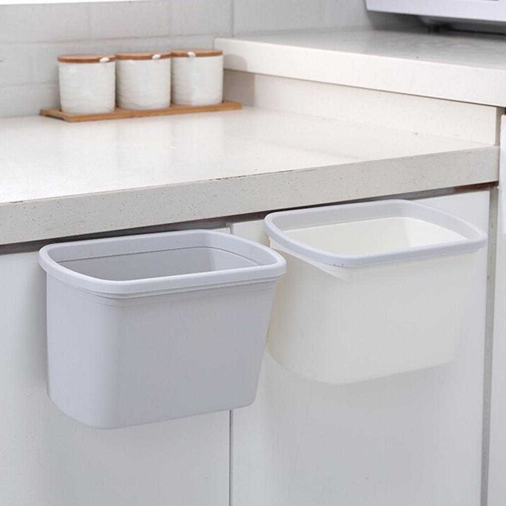 Armario de cocina colgante para basura y desechos, contenedor de basura, contenedor para artículos diversos, diseño colgante, ahorro de espacio y uso práctico