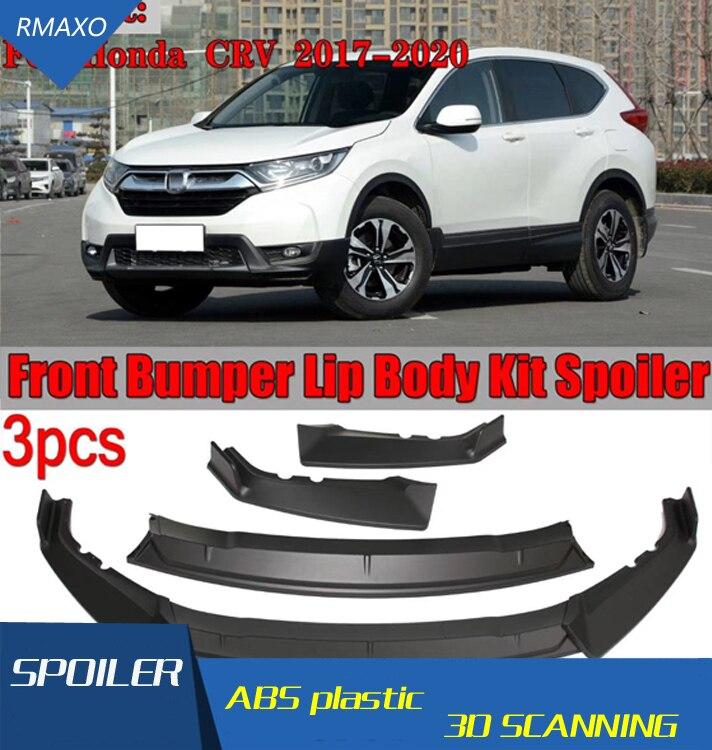 For Honda CRV Body kit spoiler 2017-2019 For CRV  ABS Rear lip rear spoiler front Bumper Diffuser Bumpers Protector