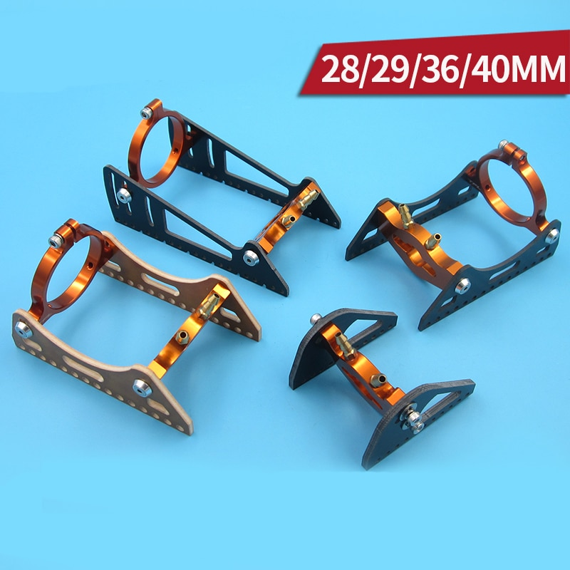1PC 28mm 29mm 36mm 40mm Motor Mount Water Cooled Motor Fixing Bracket Brushless Motors Cooling Fixed Holder for RC Boats Parts enlarge