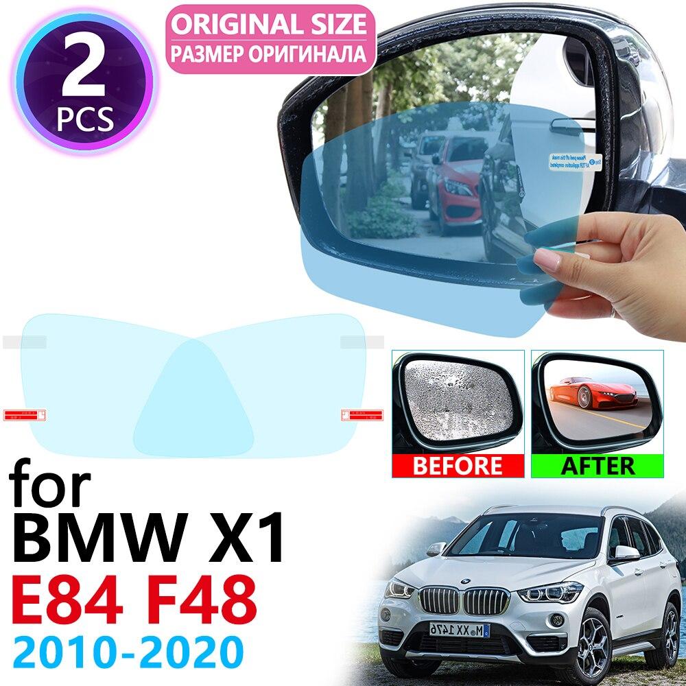 Für BMW X1 E84 F48 2010 ~ 2020 Volle Abdeckung Rückspiegel Regendicht Anti Nebel Film Zubehör 2011 2012 2013 2014 2015 2017 2018