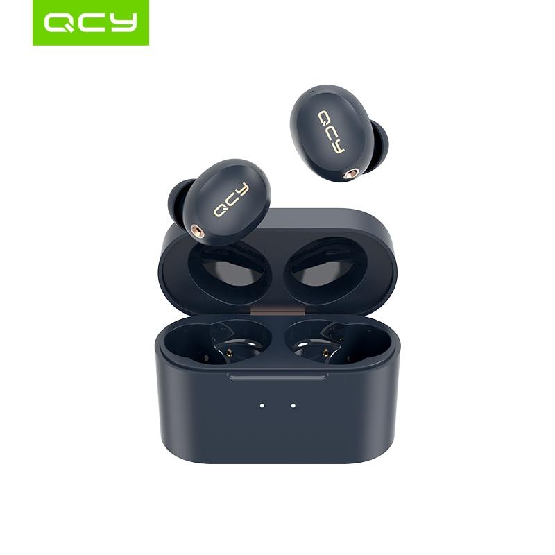 QCY HT01 Wireless Bluetooth 5.0 Earphones ANC Noise Cancelling Mini Headphones