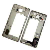 מקורי מסגרת עבור Samsung G850F Galaxy אלפא SM-G850F G850A G850 טלפון חדש התיכון Bezel שיכון מרכז מסגרת עם כפתורי מפתחות