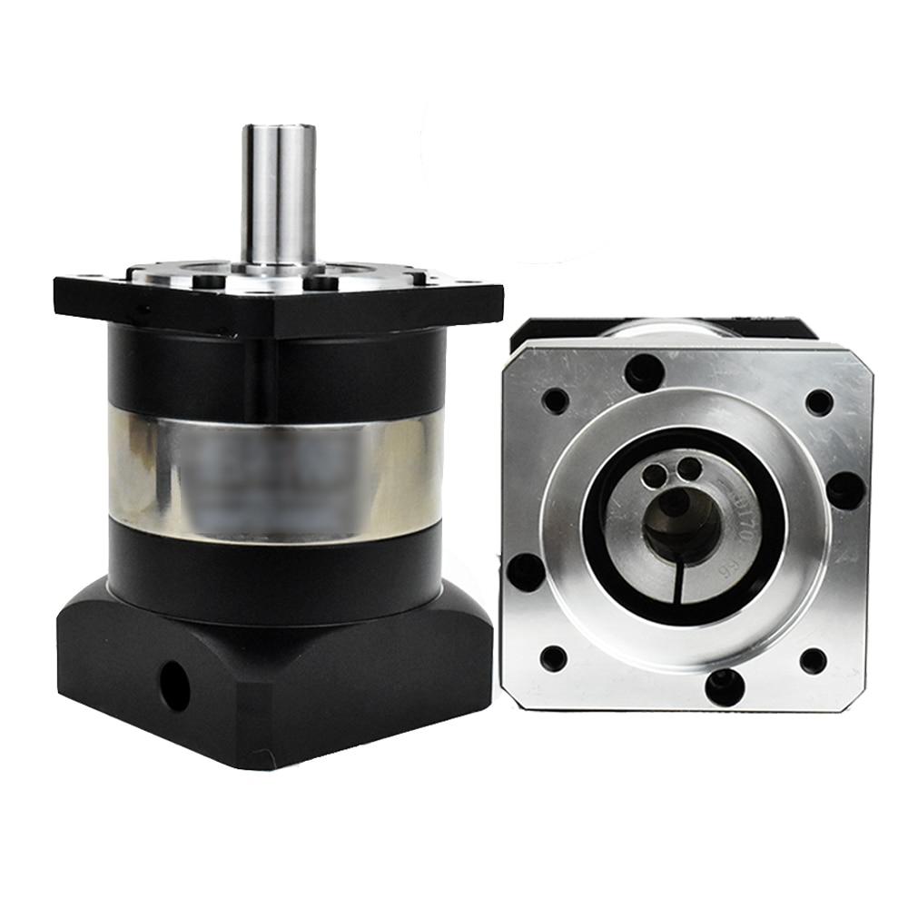 Nema34 86mm flange 10:1 Planetary Reducer Speed Ratio 5  14MM Input Shaft Gearbox 3500rpm for Nema34 86mm Stepper Motor CNC