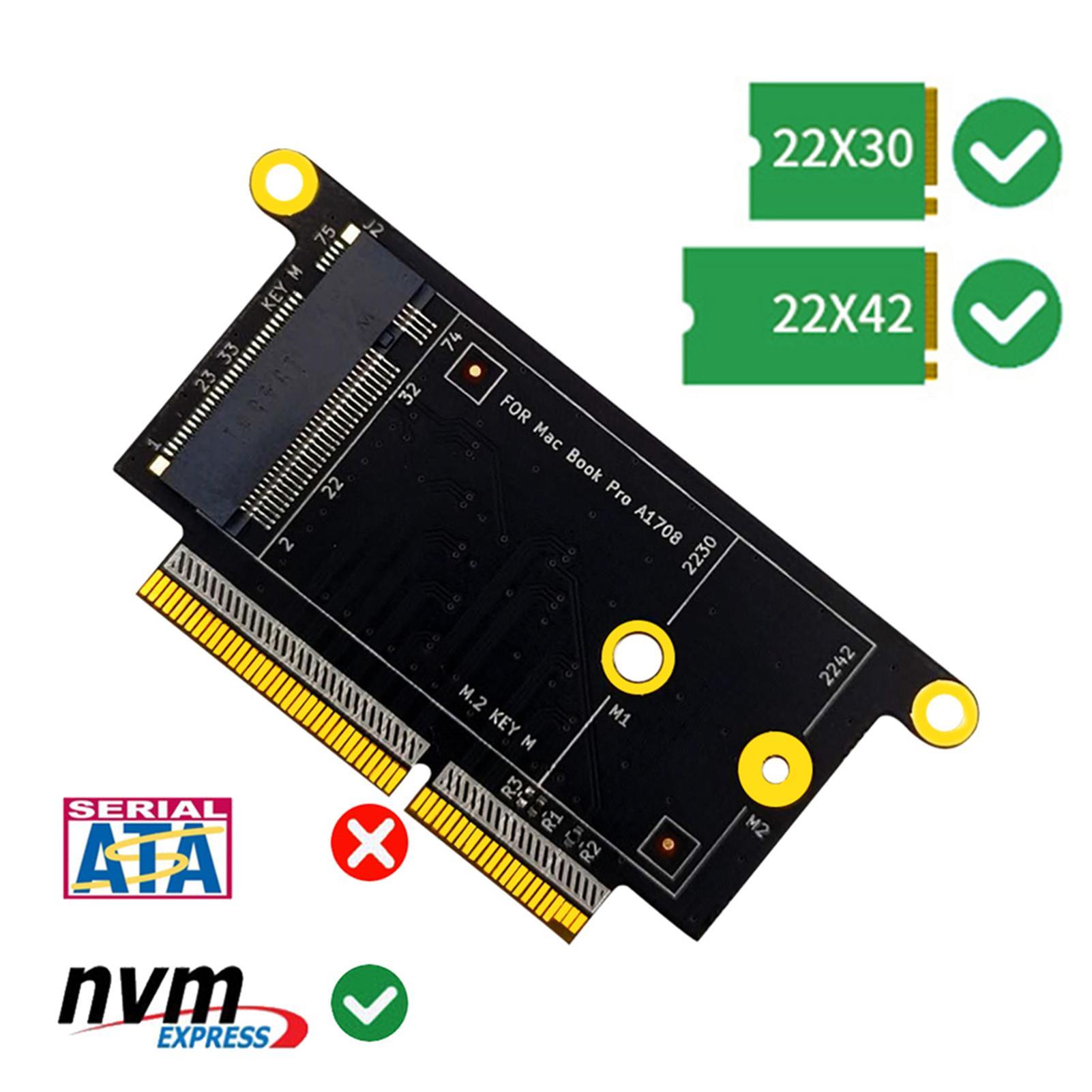 Bequem PCB M.2 NVMe SSD Solid State Disk Adapter Konverter Karte für A1708