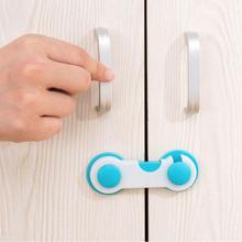 10pcs Child Safety Cabinet Lock Baby Proof Security Protector Drawer Door Cabinet Lock Plastic Prote