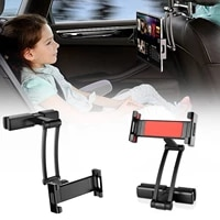 universal car seat mount telescopic tablet holder bracket clamp rack for ipad for ipad air 1 air 2 pro