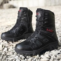 2021 high top men shoes black men boots windproof sand desert tactical military boots man winter force army ankle boots men 2021