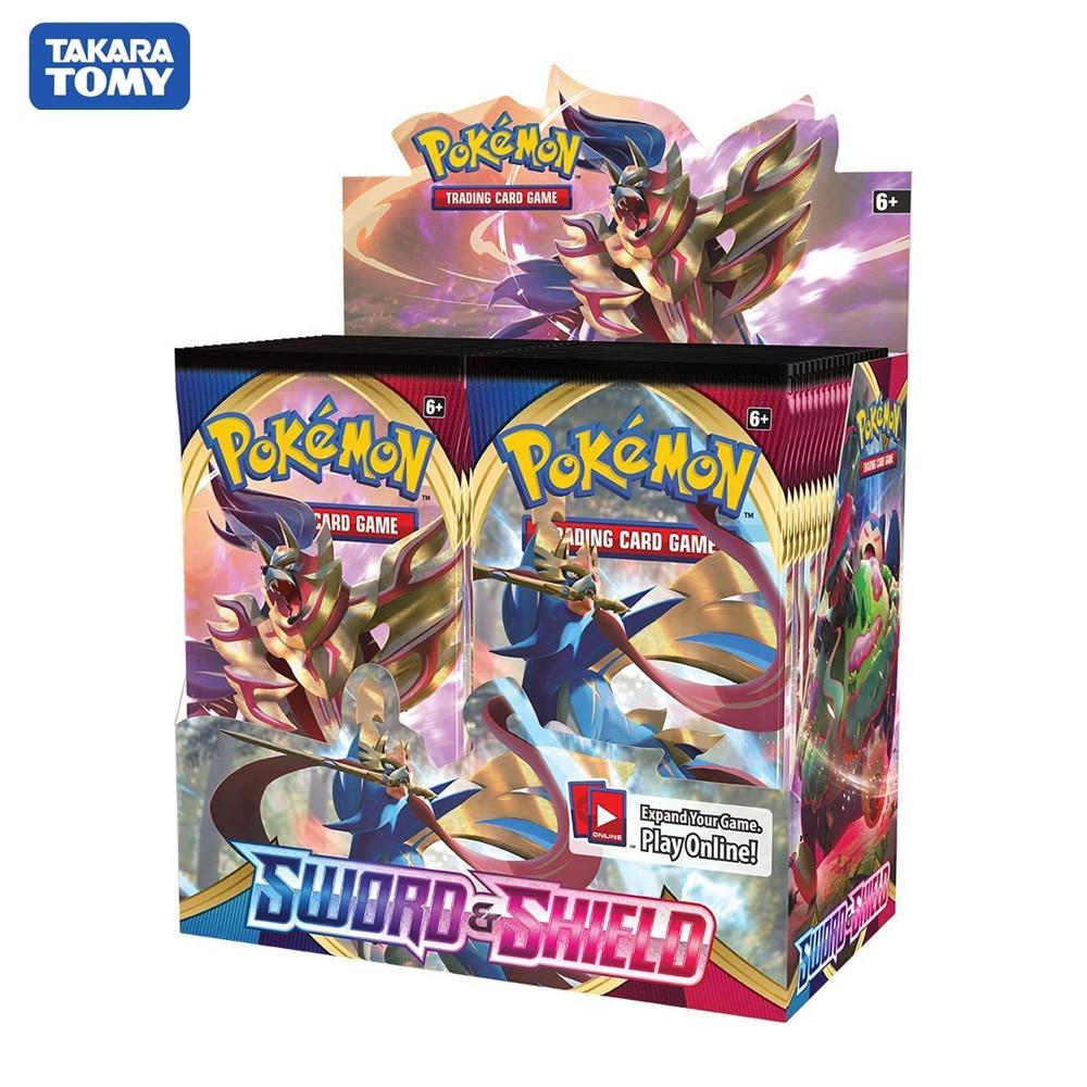 2020 mais recente 324 pçs pokemon espada & escudo tarô adivinhação cartões inglês cartões de comércio cartão jogo coleção brinquedos