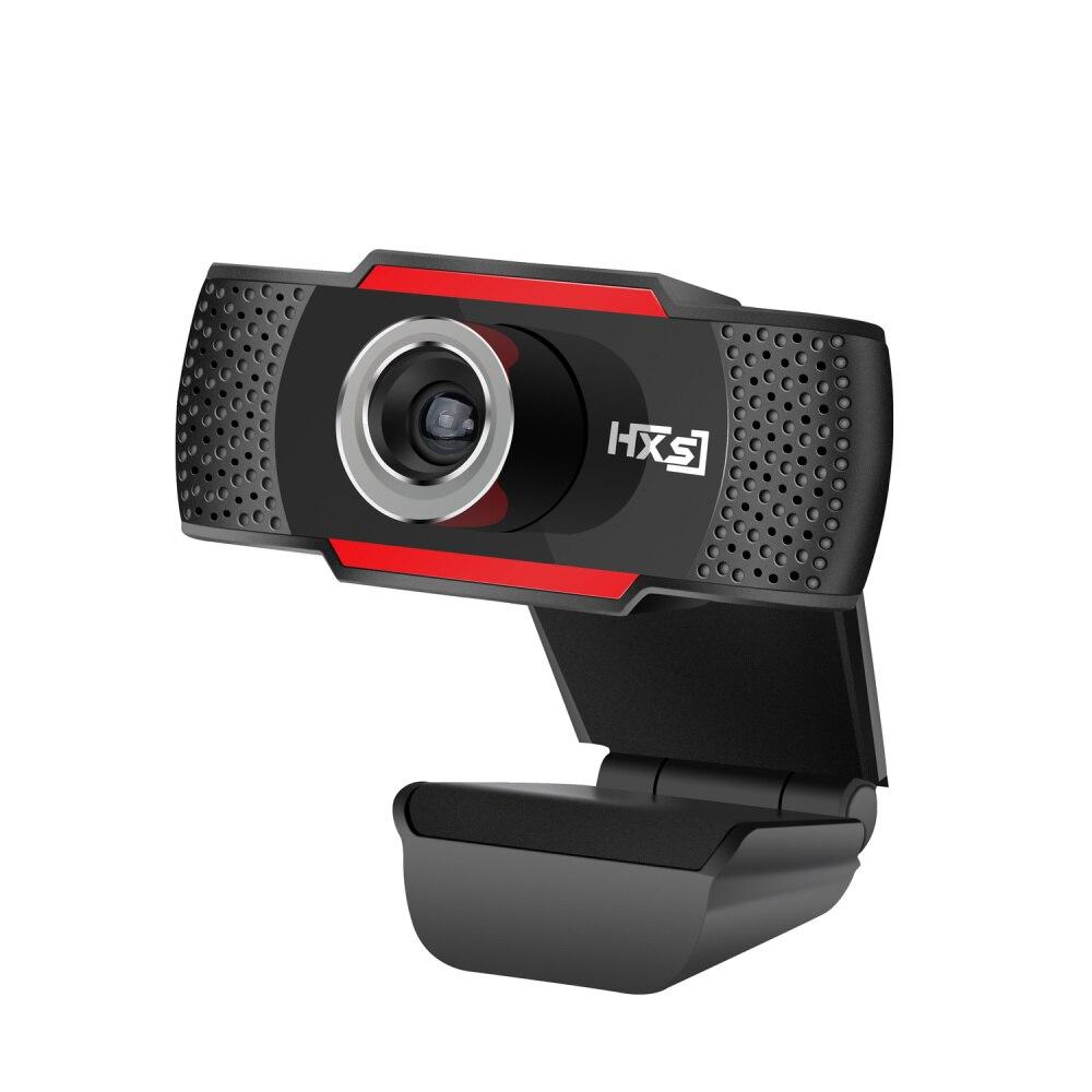 HXSJ אינטרנט מצלמה מחשב נייד מצלמה 1080P HD וידאו קונפרנס לחיות הזרמת מבטל רעשים ידנית זום